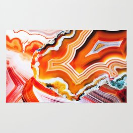 The Vivid Imagination of Nature, Layers of Agate Rug