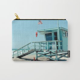 Rosecrans Tower in Manhattan Beach (El Porto) Carry-All Pouch
