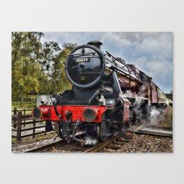 Stanier 48624 colour, landscape Canvas Print