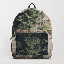 travelling east into the past Backpack