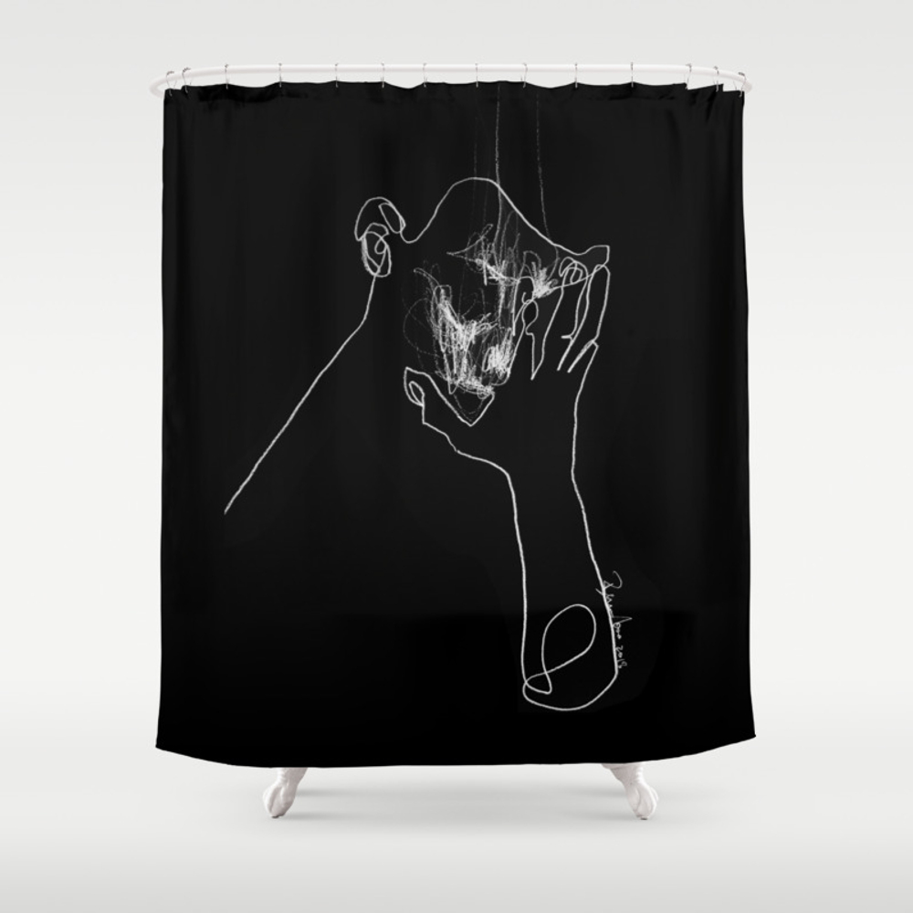 As Tears Go By Shower Curtain by Bensonkoo CTN9098676