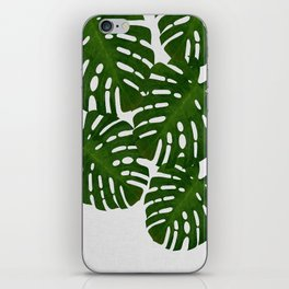 Monstera Leaf I iPhone Skin