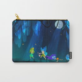 Inside out Midnight Masquerade Carry-All Pouch