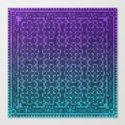 Pixel Patterns Green/Purple by likelikes