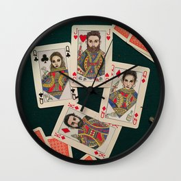 Lily, Rosemary and The Jack of Hearts - Bob Dylan Wall Clock