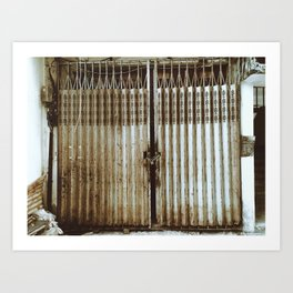 RUST AND DUST Art Print