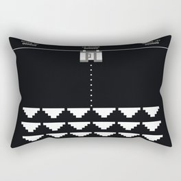 Briefs Invaders Rectangular Pillow