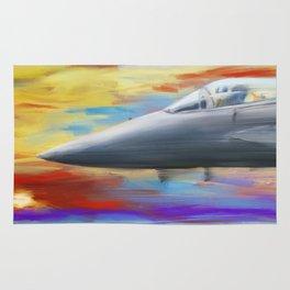 Jetfighter speed Rug