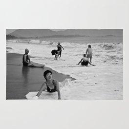 Bathing Woman in Vietnam - analog Rug