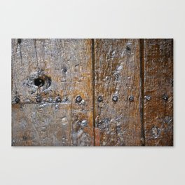 Oxford door 7 Canvas Print