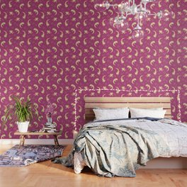 Relaxolotl - Rose Pink Wallpaper