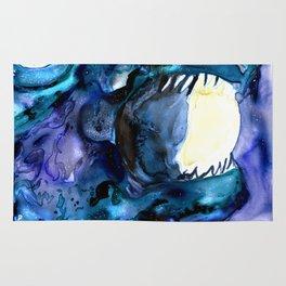 Moon Eater Dragon Rug