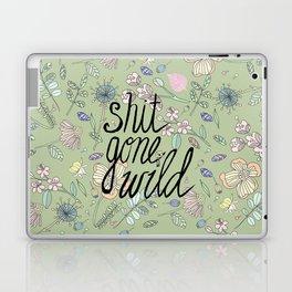 Shit Gone Wild Laptop & iPad Skin