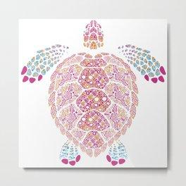 Alebrije Turtle 1 Metal Print