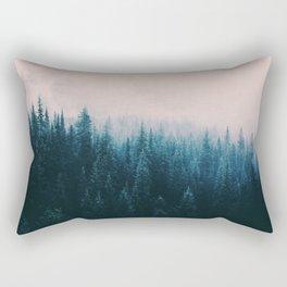 Pastel Forest Rectangular Pillow