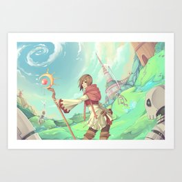 The Asgard Plains Art Print