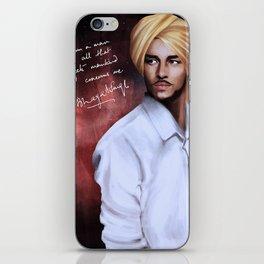 Shaheed Bhagat Singh iPhone Skin