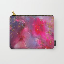 Rose Crystal Galaxy Carry-All Pouch