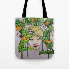 In the Citrus Family Tote Bag