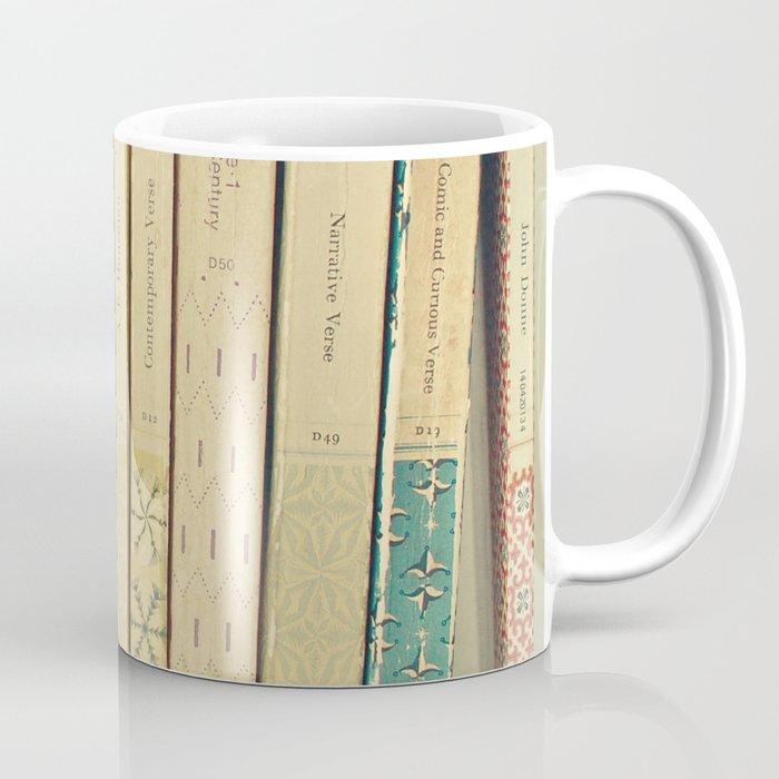 Old Books Coffee Mug