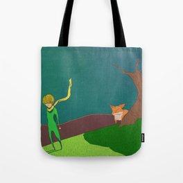 Le Petite Print Tote Bag