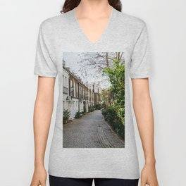 London, England 18 Unisex V-Neck