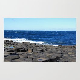 Gigant's Causeway. Antrim Coast. Northern Ireland Rug