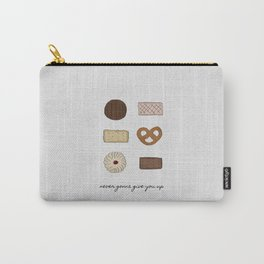 Never Gonna Give You Up Carry-All Pouch