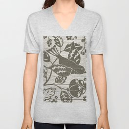 In Flight Unisex V-Neck