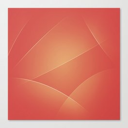 Red Damask, Valencia, Japonica & Di Serria Colors Canvas Print