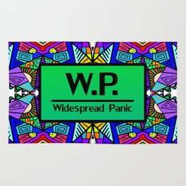 WP - Widespread Panic - Psychedelic Pattern 2 Rug