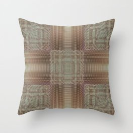 Digital embroidery Throw Pillow