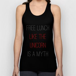 FREE LUNCH 1 Unisex Tank Top