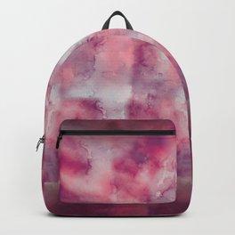 Pink watercolour, marble, yoga, hippie, bohemian, tie dye Backpack