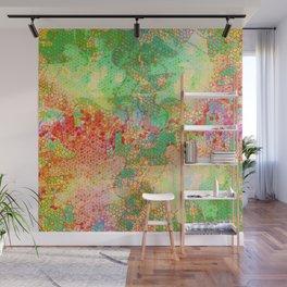 Pattern colored mosaics Wall Mural