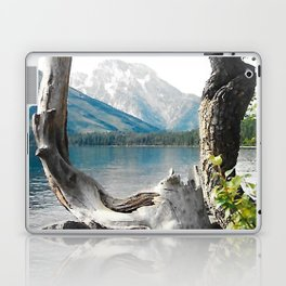 Tetons at Jackson Lake Wyoming Laptop & iPad Skin