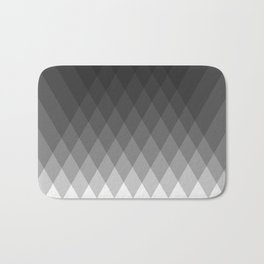Minimalist triangles Bath Mat