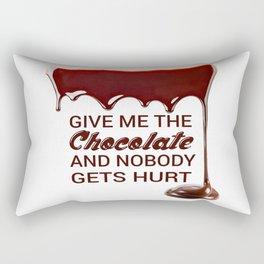Chocaholic Rectangular Pillow