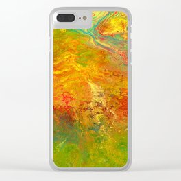 Color play Clear iPhone Case