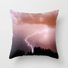 Lighting Bolt  Throw Pillow