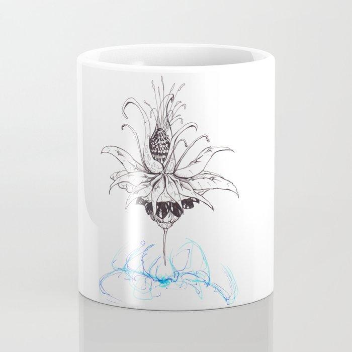 Pineapple Flower Coffee Mug