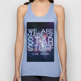 Carl Sagan Quote - Star Stuff Unisex Tank Top