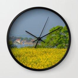 Summers Evening. Wall Clock