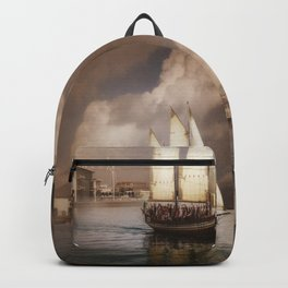 They've All Come To Look For America Backpack