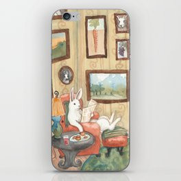 The Art Collector iPhone Skin
