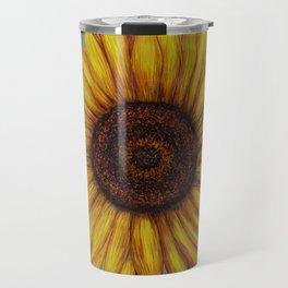 Sunflower by Lars Furtwaengler | Ink Pen | 2011 Travel Mug