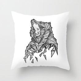 El Oso Throw Pillow