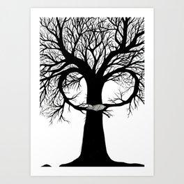 The Babysitter Art Print