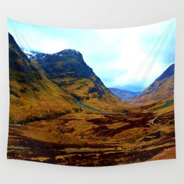 Glencoe, Scottish Highlands, in the Autumn Wall Tapestry
