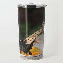Butterfly Feeding Travel Mug